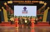 "MARPHAVET company receiving award of ""golden brand for agriculture in Viet Nam"""